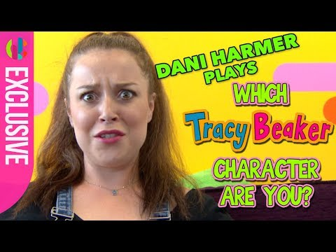 Dani Harmer plays 'Which Tracy Beaker Character Are You?'