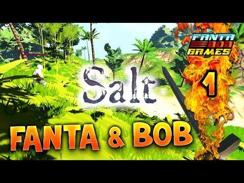 Fanta et Bob dans SALT - Ep.1 - Let's Play COOP FR