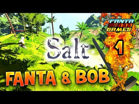 Fanta et Bob dans SALT  Ep1  Lets Play COOP FR
