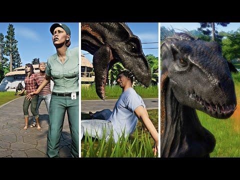 Indoraptor The Hunting People - Jurassic Park |