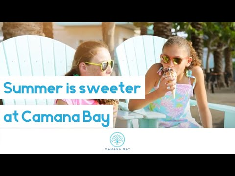 Summer is Sweeter at Camana Bay