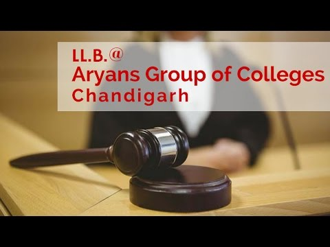 LL.B. @ Aryans Group of Colleges, Chandigarh