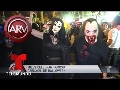 Así fue el Festival de Disfraces de West Hollywood | Al Rojo Vivo | Telemundo