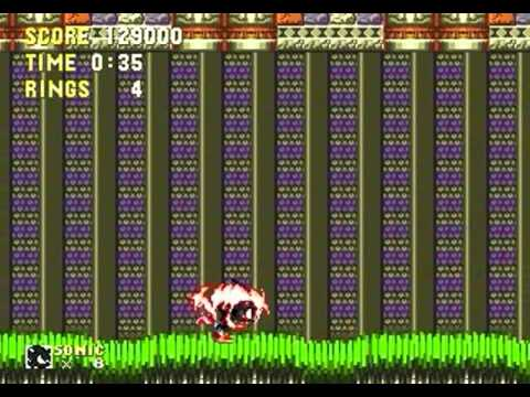 Dark Super Sonic in Sonic 3 & Knuckles (Genesis)