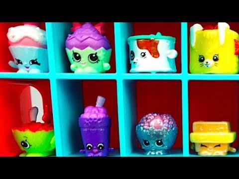 Игрушки и сюрпризы Шопкинс для детей Кейс для хранения