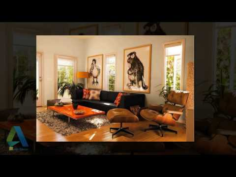 [Daily Decor] Brown and Orange Living Room