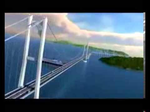 Jembatan Selat Sunda Sunda Strait Bridge(animasi)