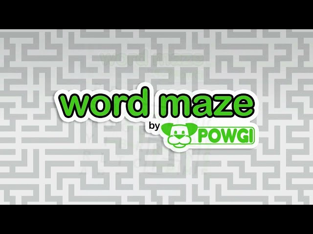 Word Maze By POWGI (PS4/PSVITA/PSTV) Platinum Trophy Guide/Required Solutions
