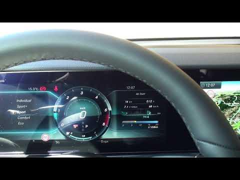 Mercedes E400d 4MATIC: Motorklang innen C und S+