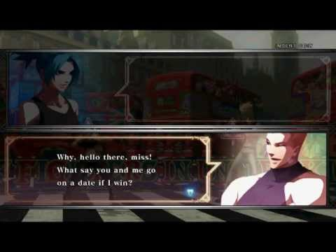 KoF XIII: All of Leona's Pre-Battle Dialogue |