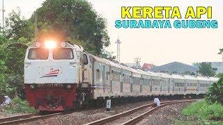 Kumpulan Kereta Api Elit di Stasiun Surabaya Gubeng : Bangunkarta, Turangga, Bima, Ranggajati