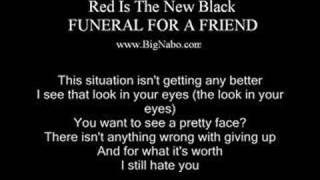 Watch Funeral For A Friend Red Is The New Black video