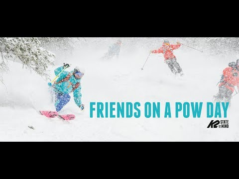 K2 Skis - Friends On A Pow Day
