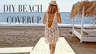 DIY | SUMMER BEACH COVERUP | SZILVIA BODI