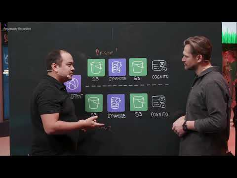 AWS Solutions: Multi-Region Availability with Amazon DynamoDB, Amazon S3, and Amazon Cognito (LIVE)