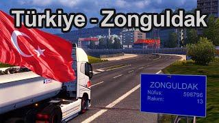 Euro Truck Simulator 2 Türkiye Haritası Zonguldak (Beta v2.7)