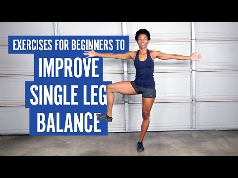 Exercises For Beginners To Improve Single Leg Balance