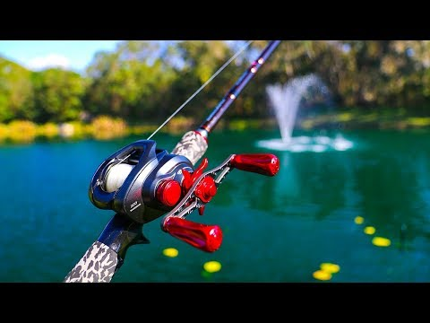 Fishing With NEVER Before Seen PROTOTYPE Reel!! (high value)