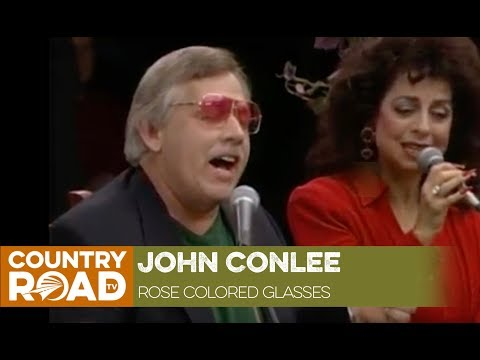 "John Conlee sings ""Rose Colored Glasses"""