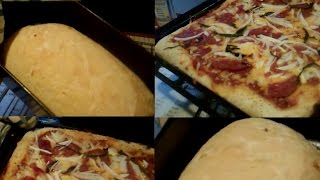 Fast, Easy Homemade Onion-garlic Bread & Pizza 2-fer (i Of Ii)