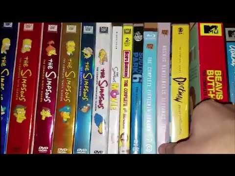 My Cartoon DVD collection