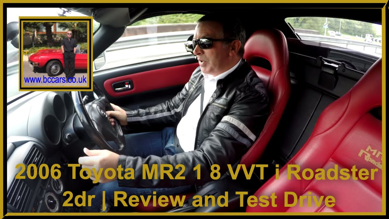Review and Virtual Video Test Drive In Our 2006 Toyota MR2 1 8 VVT i  Roadster 2dr