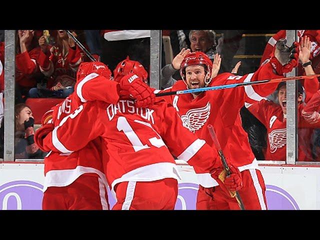 Datsyuk's stick wizardry leads to tying goal