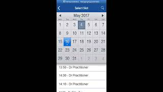 Booking and Cancelling Appointments in SystmOnline on Apple iPhone/iPad