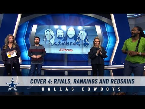 Cover 4: Rivals, Rankings and Redskins | Dallas Cowboys 2018