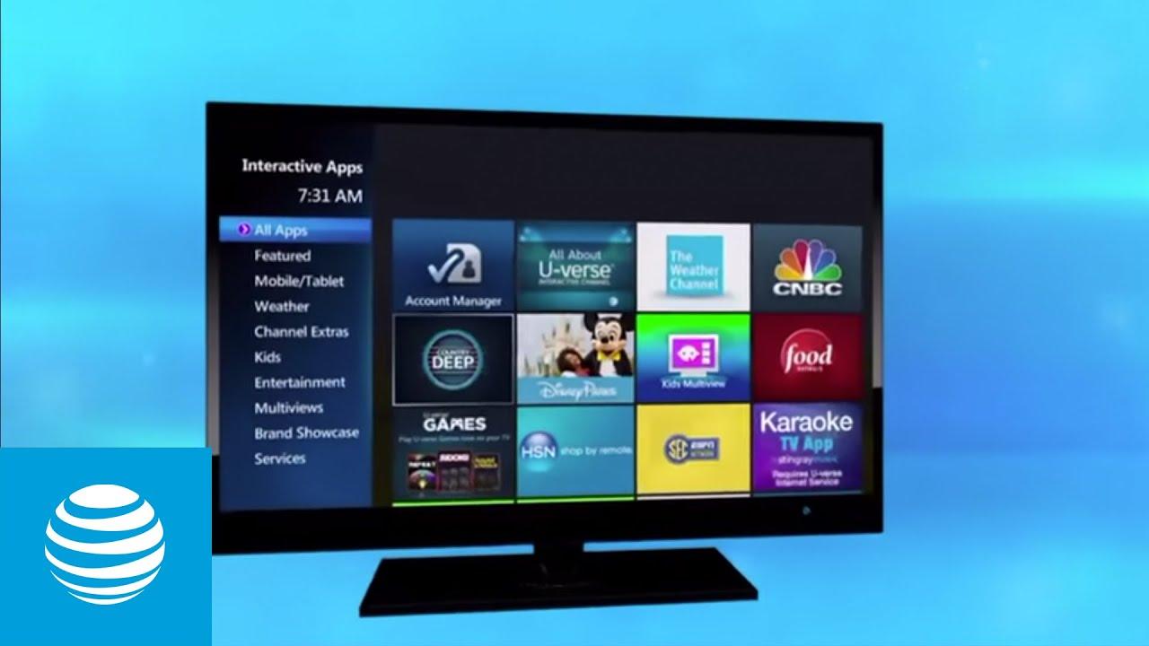 medium resolution of u verse interactive tv app at t u verse at t