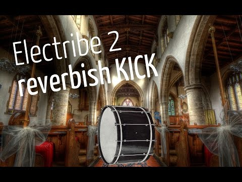 How i create a reverbish techno kick on the Electribe 2
