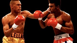 Gerald McClellan vs Julian Jackson - Highlights (Middleweight SLUGFEST & KNOCKOUT) thumbnail