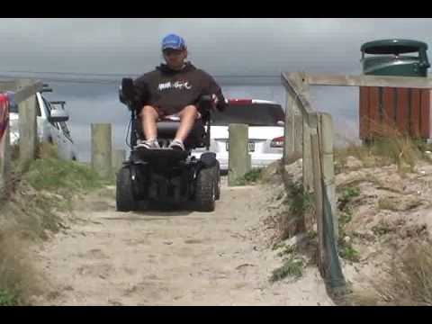 X8 Wheelchair Target Wicker Chairs Extreme By Magic Mobility 4wd Doing Sandy Stairs