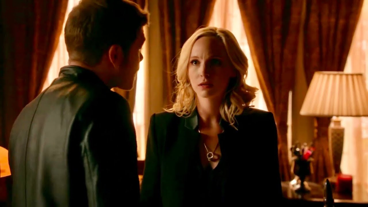 "Download The Originals - Klaus and Caroline - part 4| HD ""Where do you keep the hybrids?"""