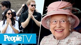 Prince Harry & Meghan Markle Reportedly Meet Queen Elizabeth For Tea At Buckingham Palace | PeopleTV