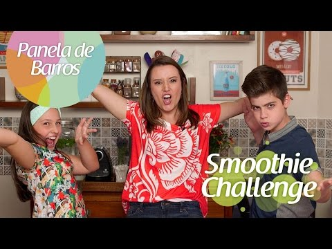 SMOOTHIE CHALLENGE FT. LIVIA E EDU DO MASTERCHEF JR