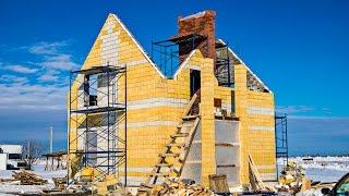 17  ТЕПЛОБЛОК44  строительство домов из теплоблоков(Продолжение строительства теплоэффективных домов. Строительство ведет компания