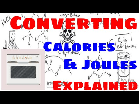 Converting Joules to Calories and Calories to Joules