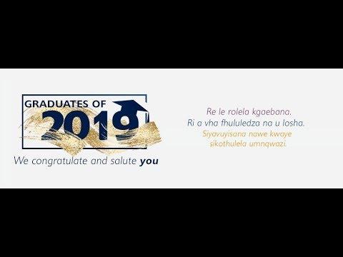 Graduation ceremony class of 2019