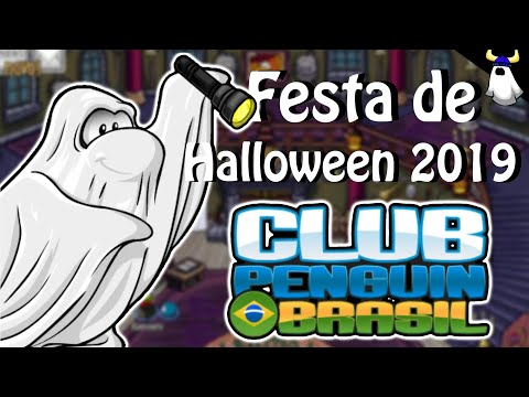 🎃 | FESTA DE HALLOWEEN 2019! (Tudo Da Festa) - Club Penguin Brasil