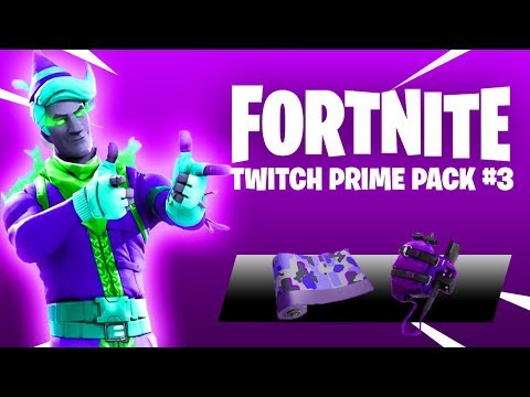 *NEW* TWITCH PRIME PACK #3 In Fortnite! (FREE SKIN)