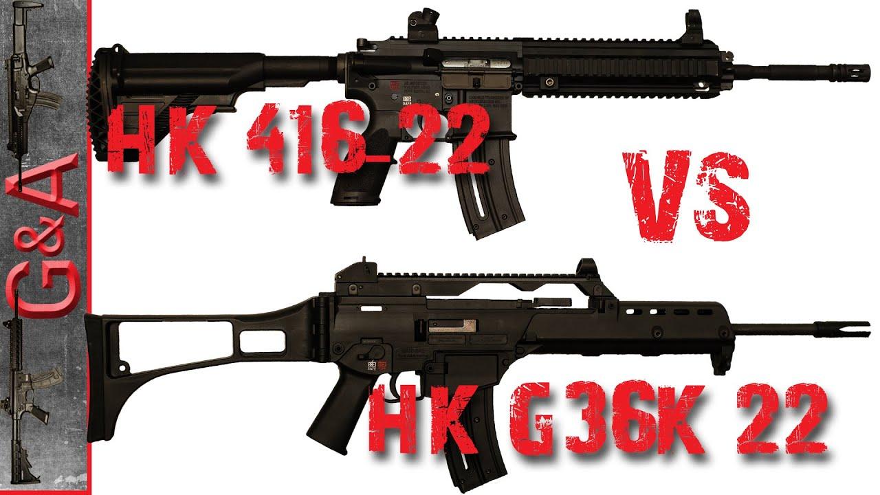 Hk416 22lr
