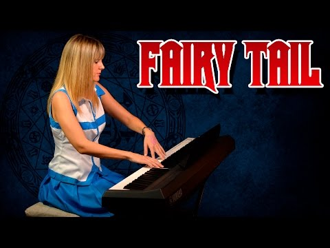 Fairy Tail – Main Theme (Piano Version) || Tifita