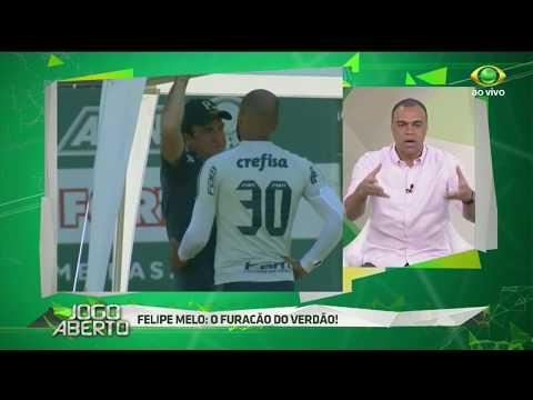 Denilson: Palmeiras Fica Forte Com F. Melo No Elenco
