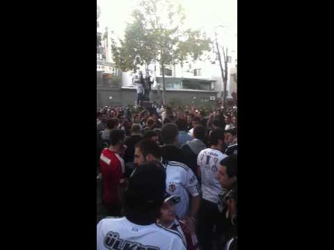 Barbaros Meydanı ( Beşiktaş-Trabzonspor 21.10.2012)