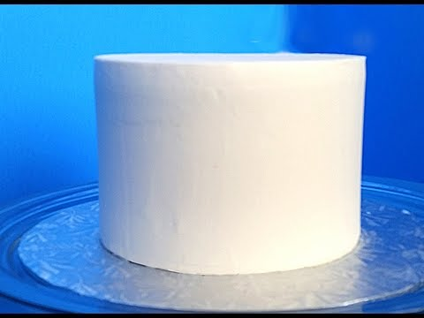 Cake Decorating Smooth Frosting : How to Get Smooth Icing or Frosting on a Cake - YouTube
