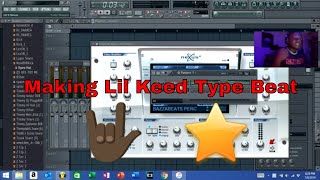 Making Lil Keed type beat / Long live mexico FL Studio cook up 2019