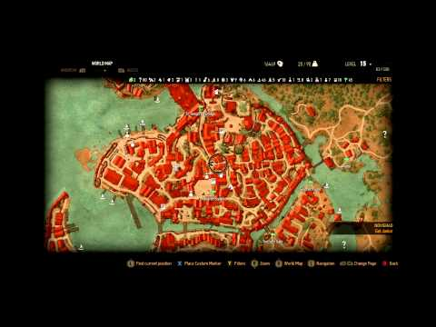 Witcher 3 - How To Find The Bathhouse!