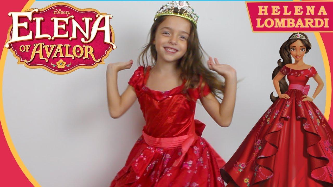 Princesa Elena De Avalor Fantasia Da Helena Disney Youtube