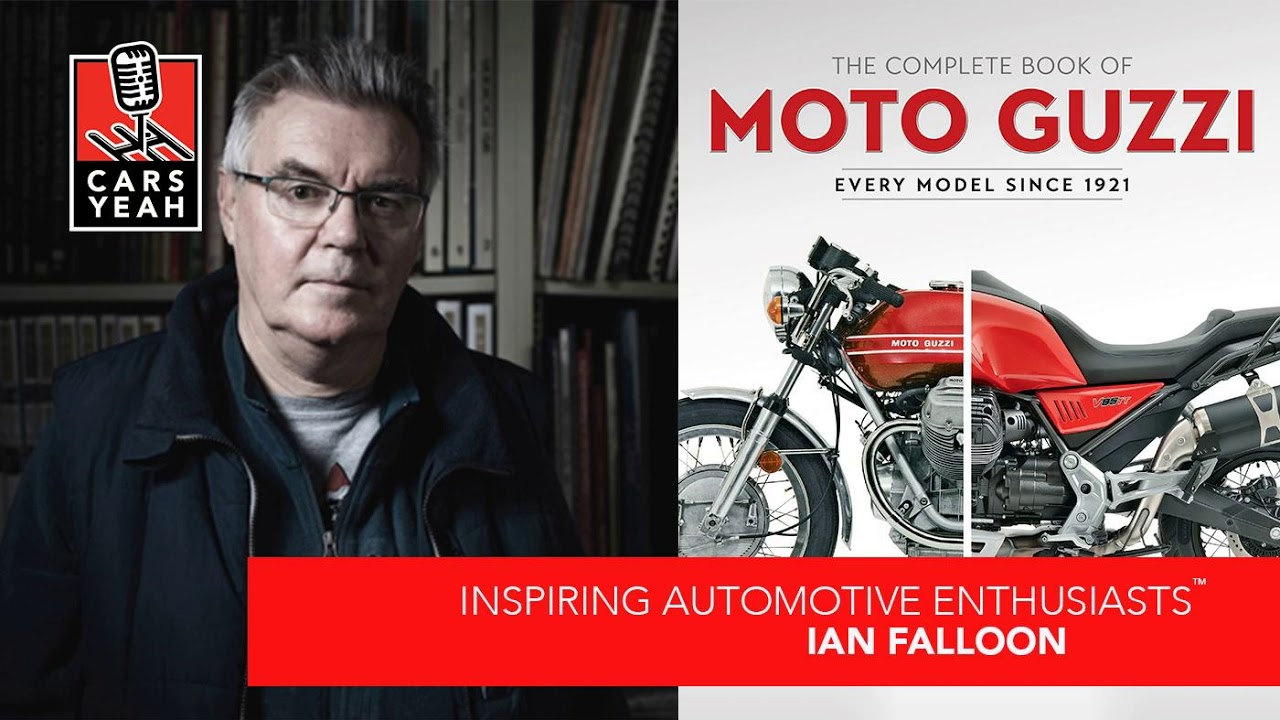 1673: Ian Falloon is an author of motorcycle books - YouTube